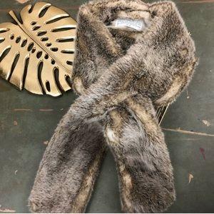 RH Luxe Faux Fur Scarf